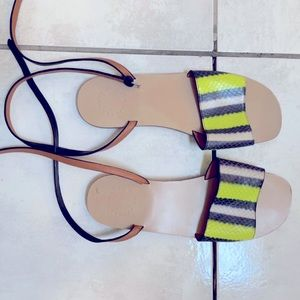NWOT marc by marc jacobs leather sandals 38.5
